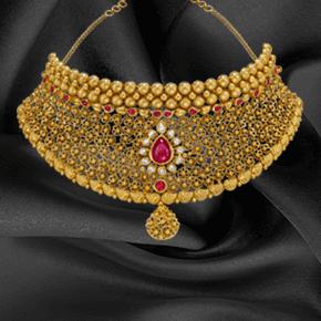 Gold Bridal Jewellery Sets Designs Khazana