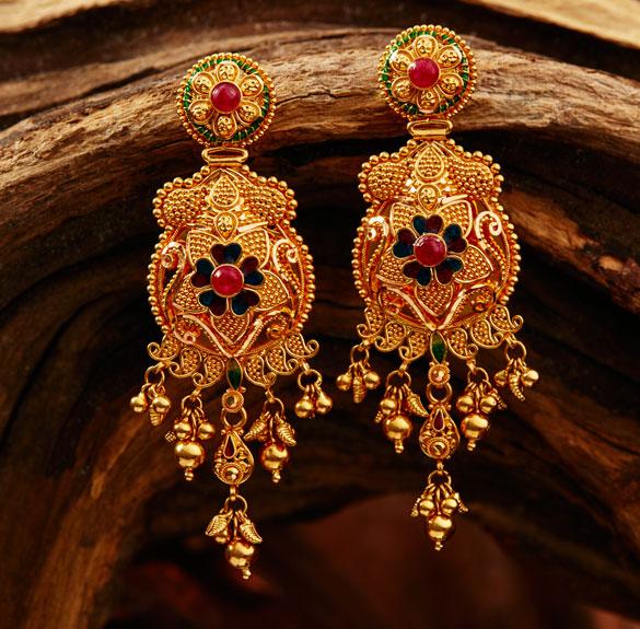 Earrings Archives Gold Jewellery